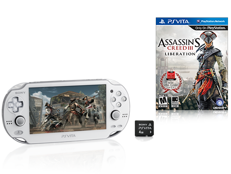 PlayStation®Vita Assassin's Creed® III Liberation Bundle