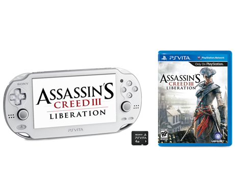 E3 2012 PS Vita Assassin's Creed III: Liberation bundle
