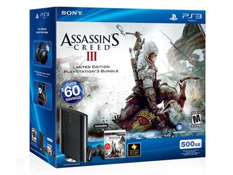 PlayStation®3 Assassin's Creed® III Bundle