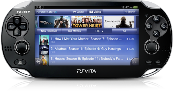 PS Vita Movies