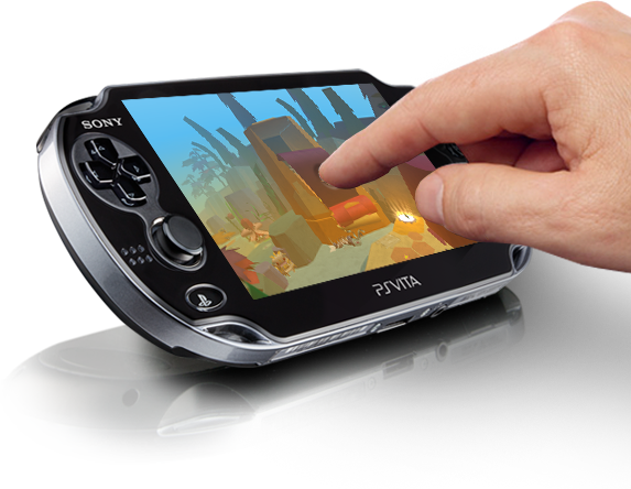 PlayStation®Vita Touchscreen