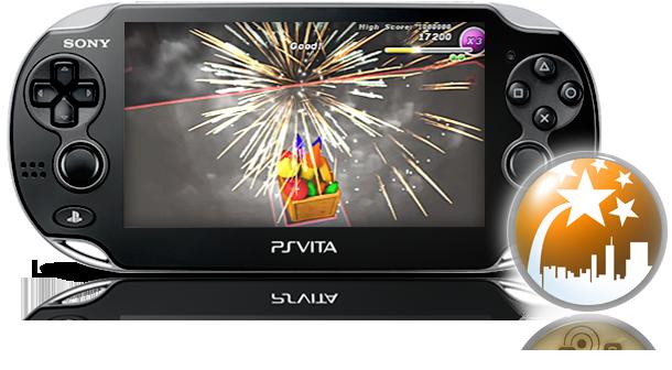 PS Vita Fireworks