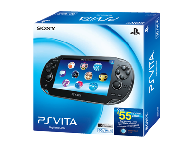 PlayStation®Vita 3G/WiFi Launch Bundle
