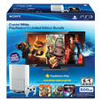 Classic White PS3™ Bundle comes with 1 Year of Plus